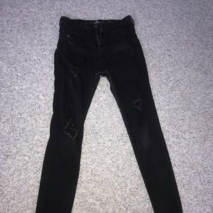 hollister high-rise super skinny jeans (long)